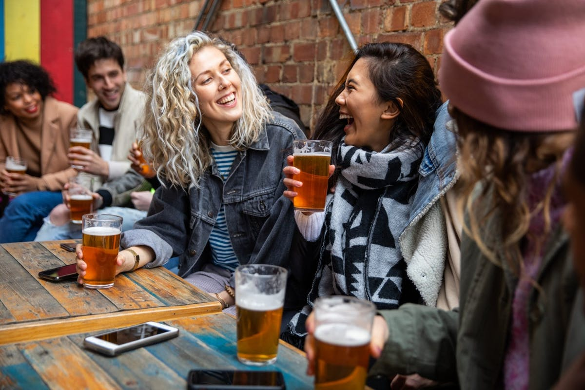 Women at the pub