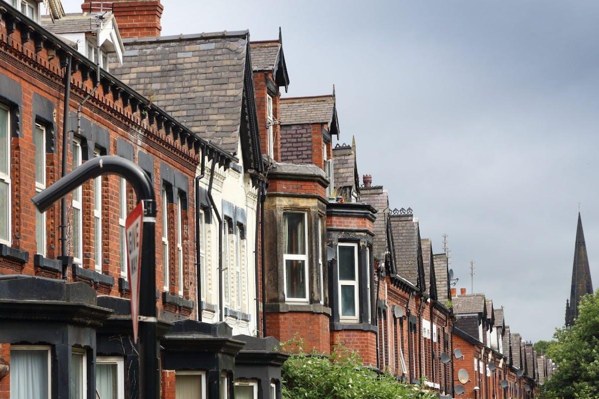 row of houses in leeds
