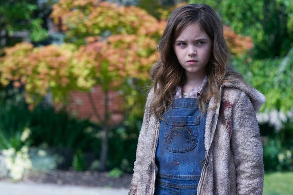 First look at Ryan Kiera Armstrong as Charlie McGee in Firestarter