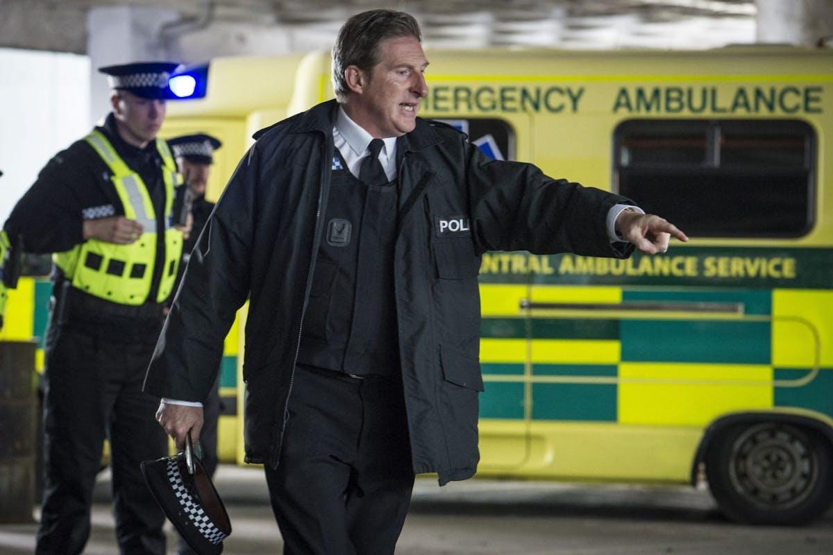Line Of Duty: Adrian Dunbar as Ted Hastings