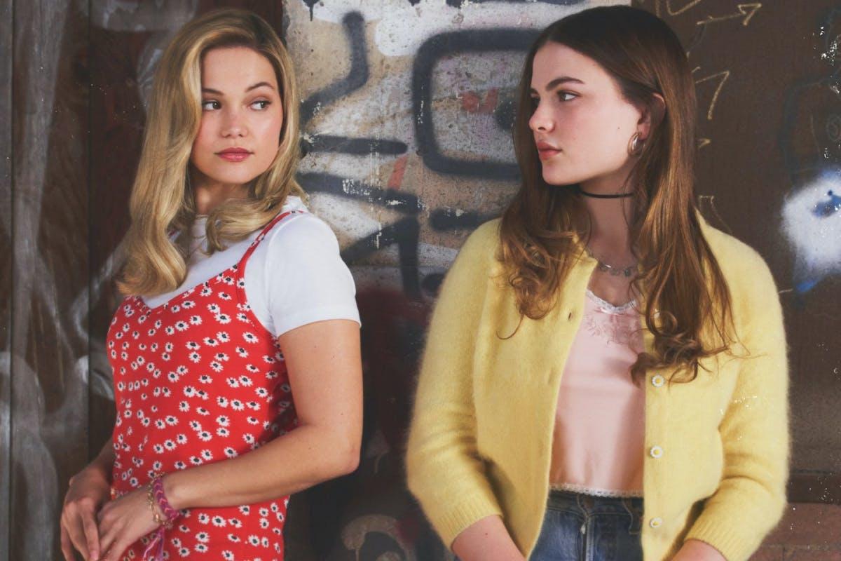Olivia Holt as Kate alongside Chiara Aurelia as Jeanette.