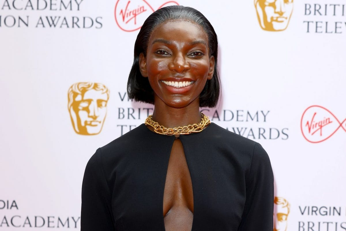 Michaela Coel attends the Virgin Media British Academy Television Awards 2021 at Television Centre on June 06, 2021 in London, England. (Photo by Tim P. Whitby/Getty Images)