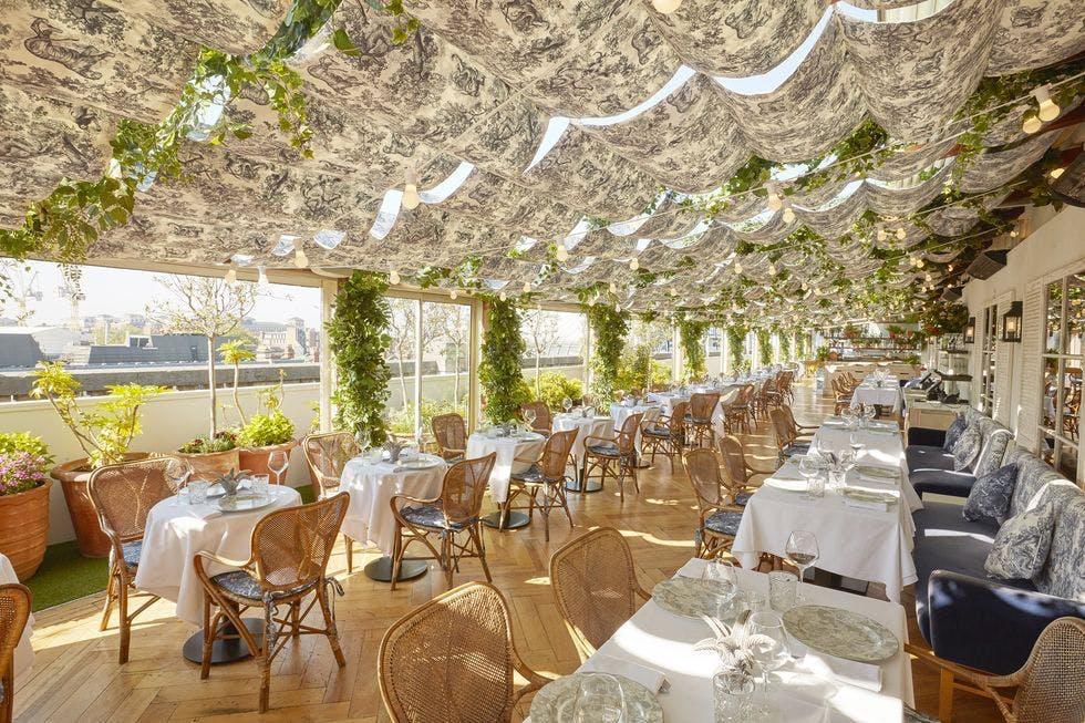 Dior's Selfridges rooftop pop-up