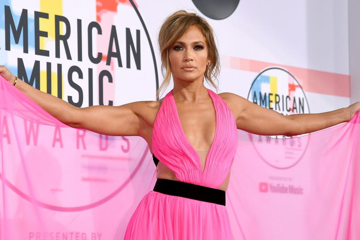 Jennifer Lopez attends the 2018 American Music Awards at Microsoft Theater on October 9, 2018 in Los Angeles, California. (Photo by Kevork Djansezian/Getty Images For dcp)