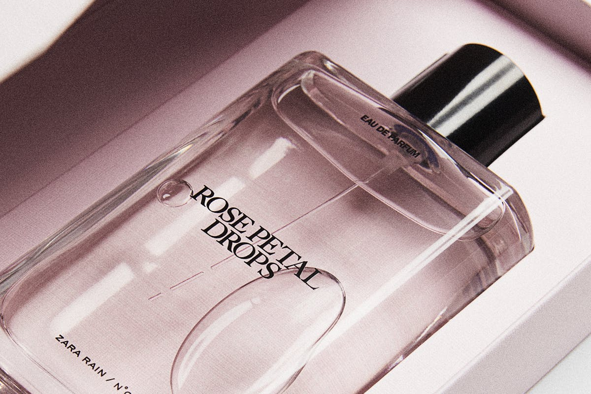 Jo Malone Zara Rain perfume collection Rose Petal Drops