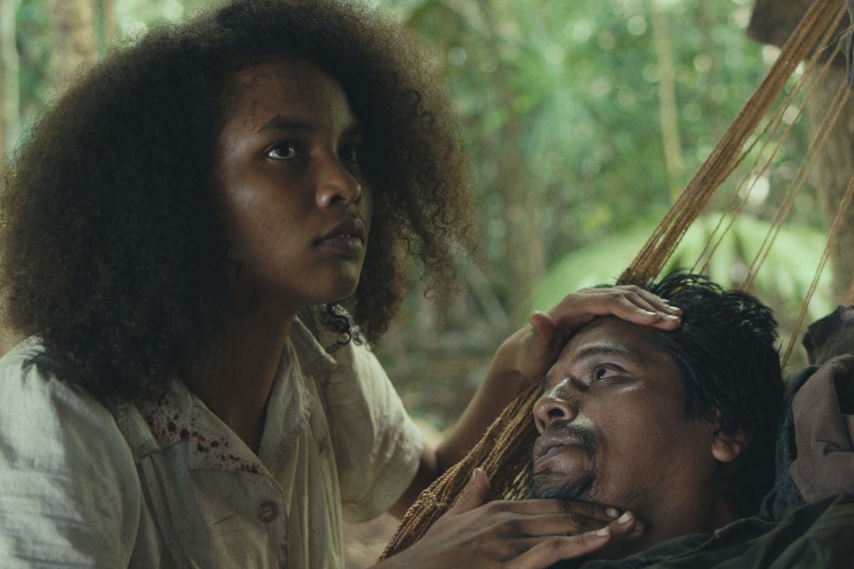 Indira Rubie Adrewin as Agnes in Tragic Jungle