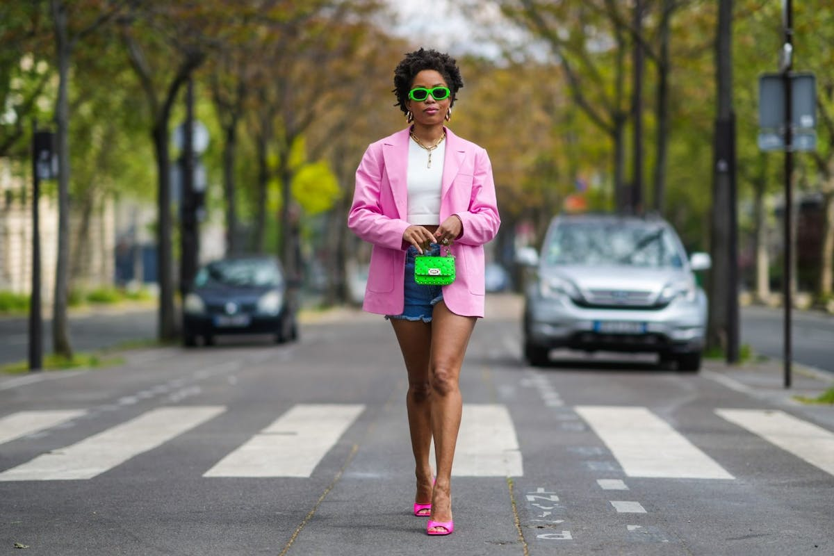 Punchy pink blazers are big news for summer