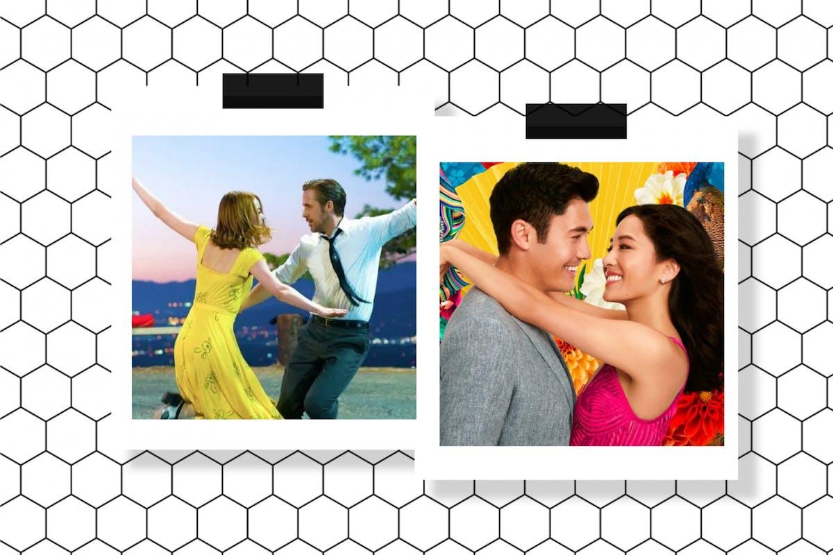 Summery films Crazy RIch asians La La Land