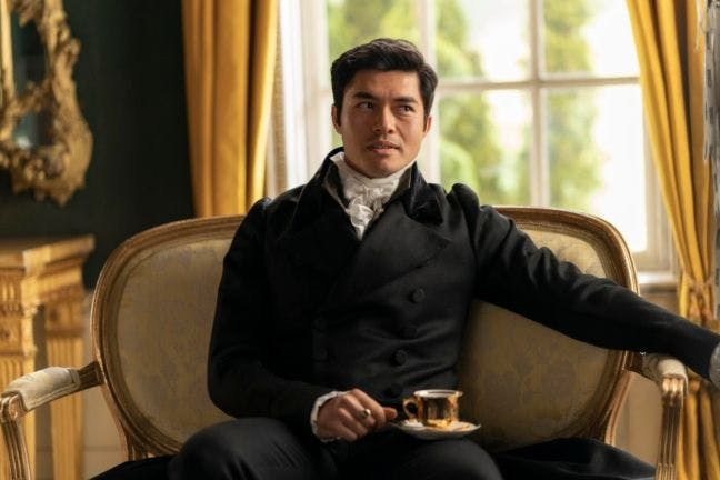 Henry Golding in Persuasion