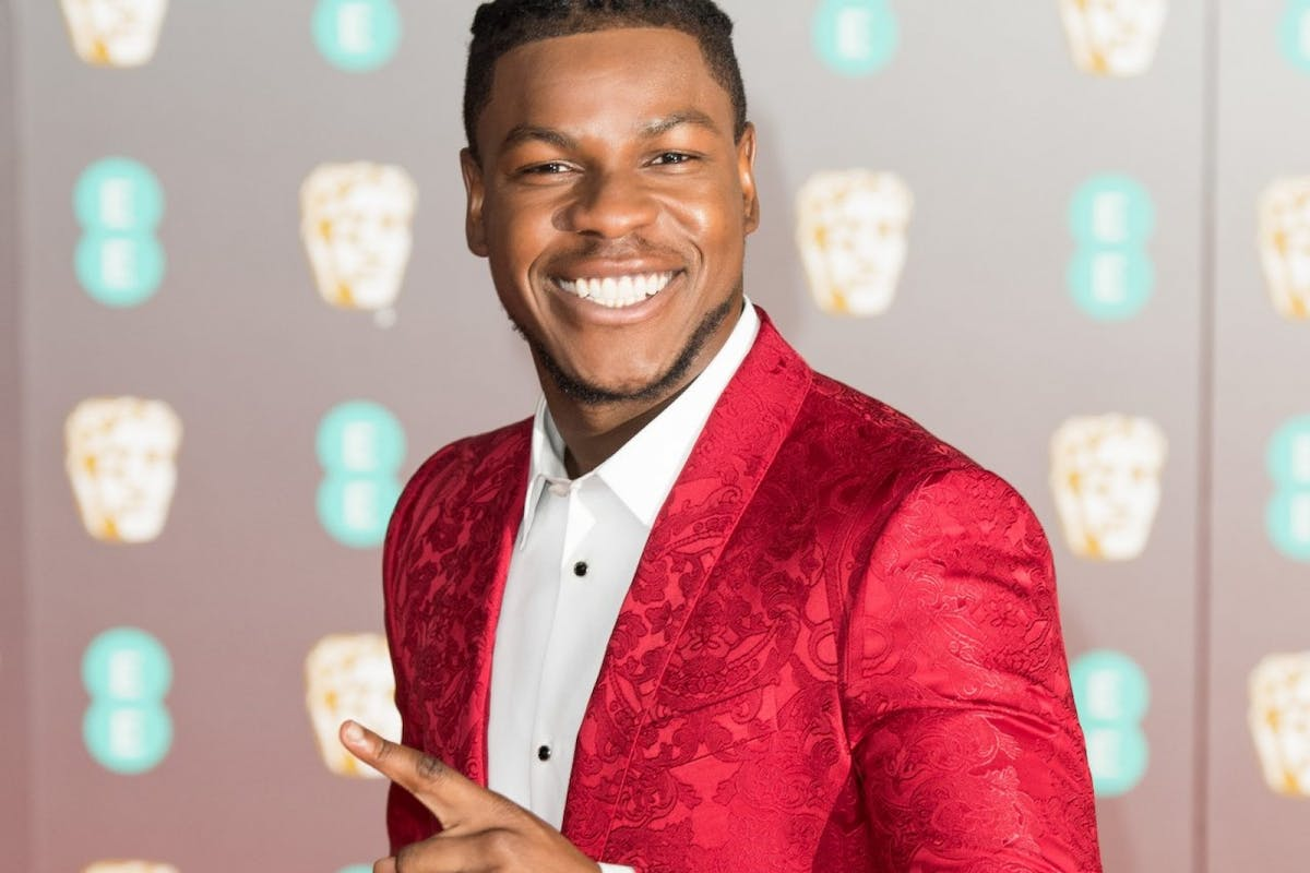 John Boyega attends the EE British Academy Film Awards 2020 at Royal Albert Hall on February 02, 2020 in London, England. (Photo by Jeff Spicer/Getty Images)