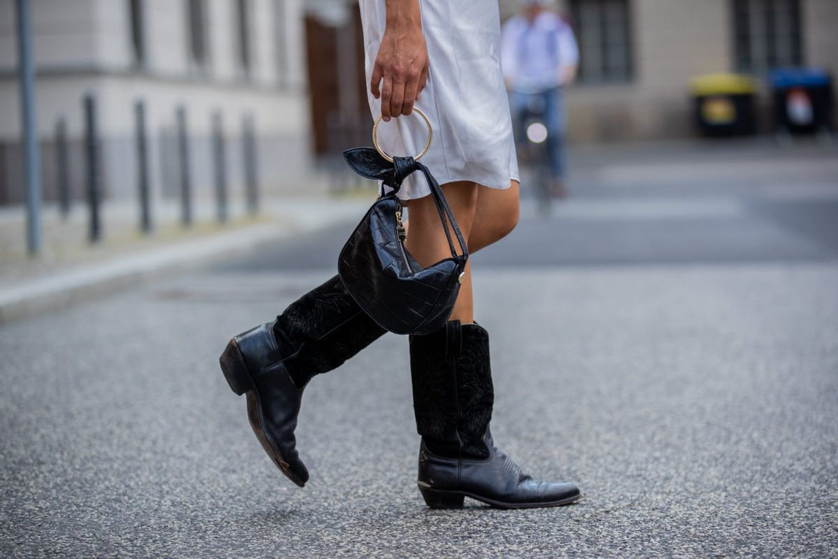 Best boots to wear with dresses