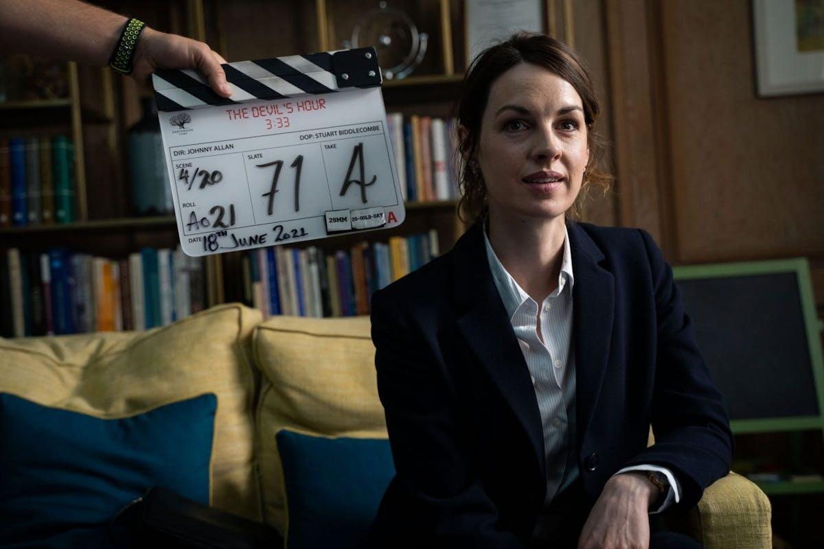 Jessica Raine stars in The Devil's Hour on Amazon Prime