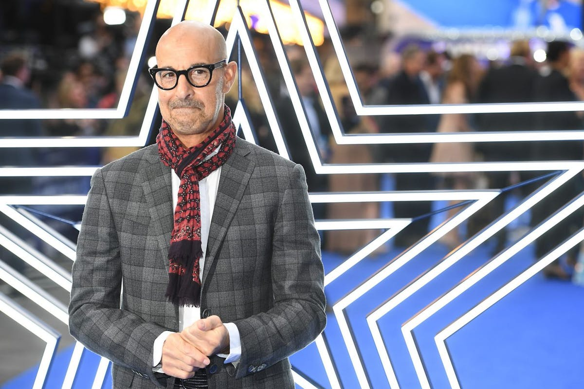 """Stanley Tucci attends the """"Rocketman"""" UK premiere at Odeon Leicester Square on May 20, 2019 in London, England. (Photo by Dave J Hogan/Getty Images)"""