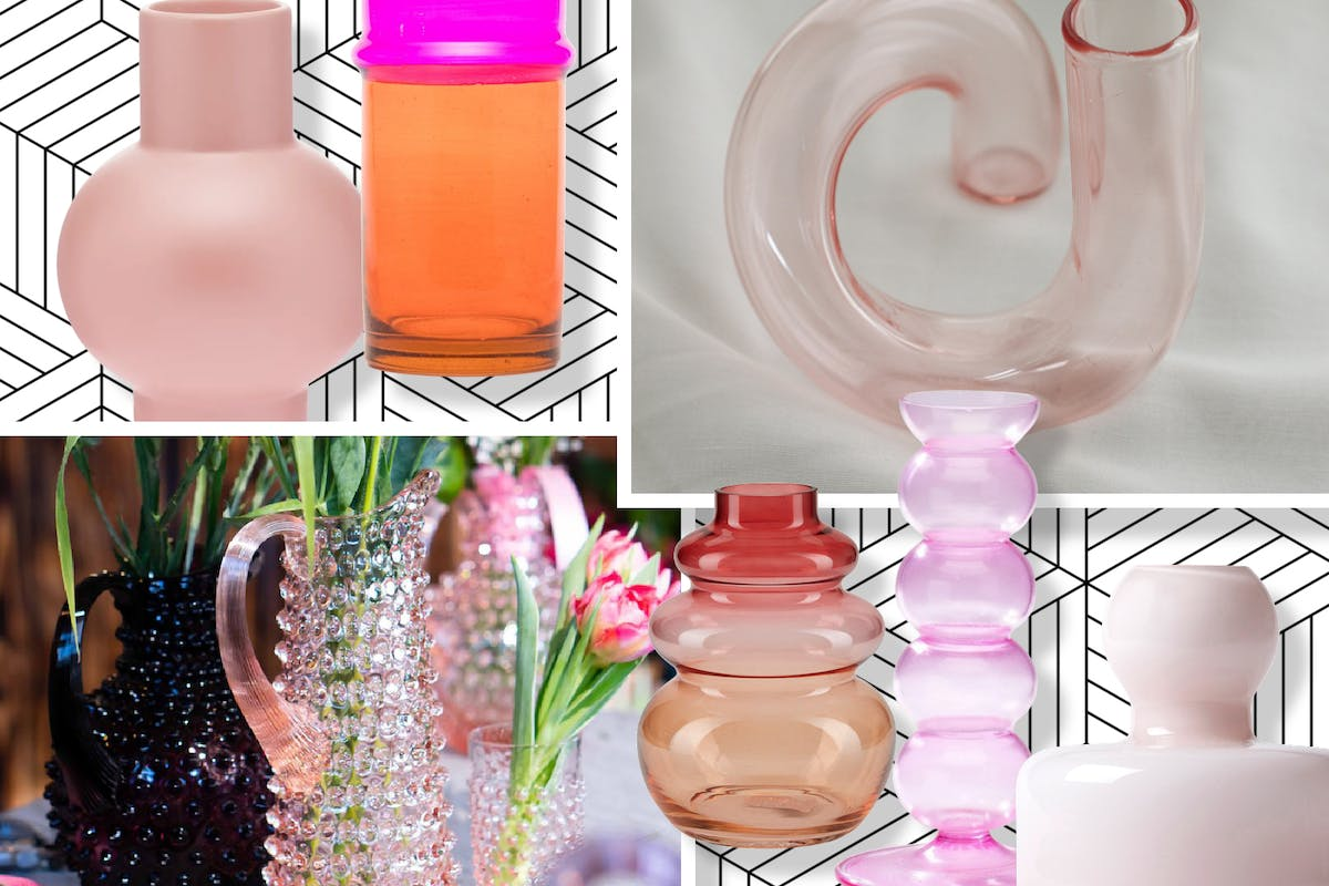 Pink vases are going to up your floristry game