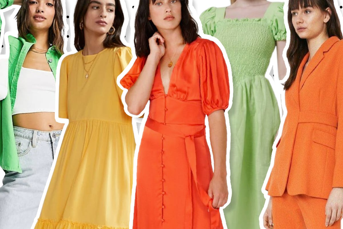 Citrus brights are big for summer