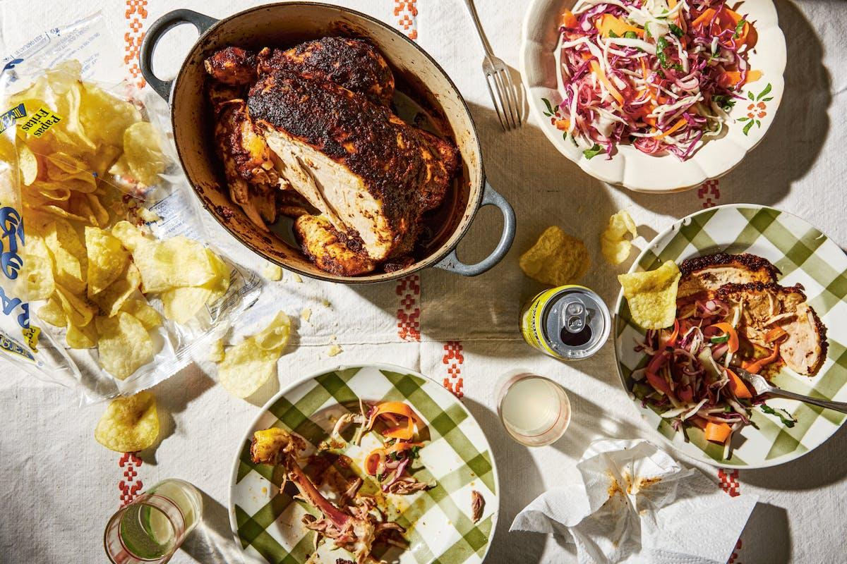 mexican roast chicken recipe