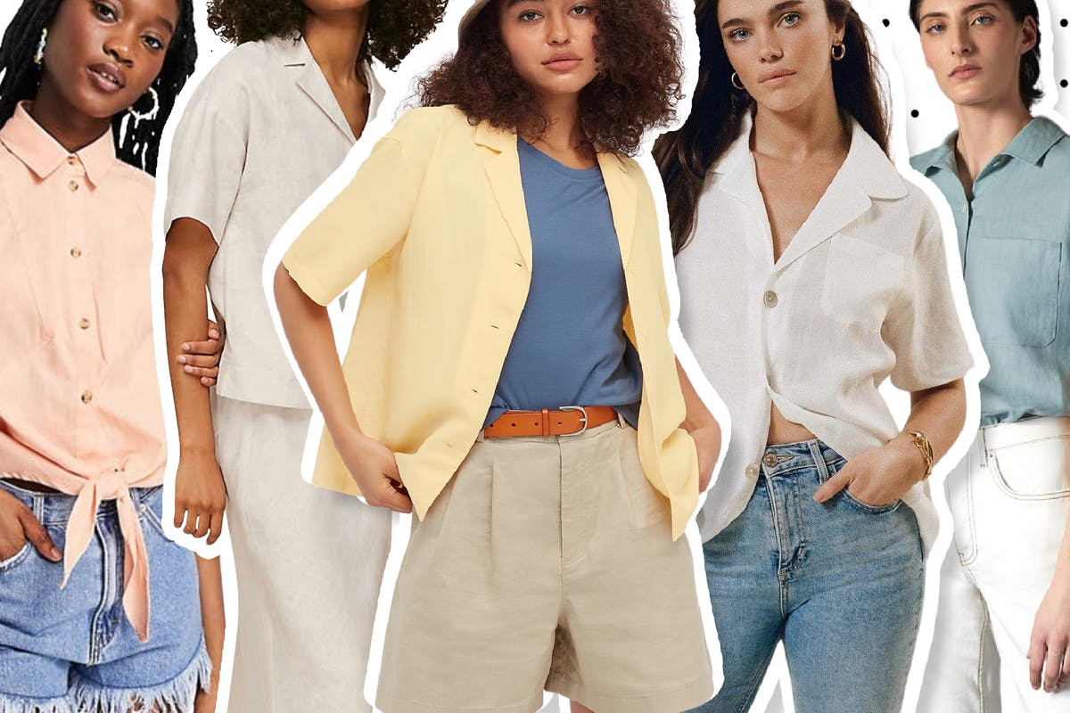 Neutral-toned linen shirts are set to be your summer style BFF
