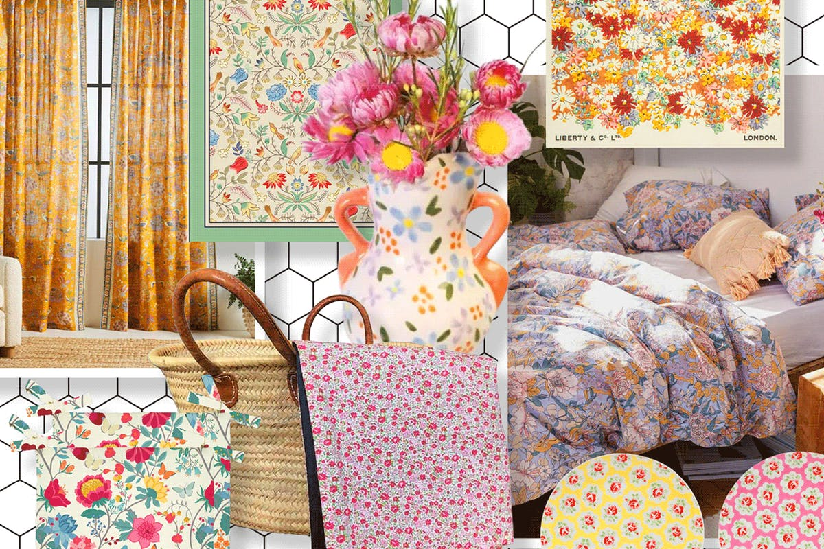 Ditsy floral homeware to make your house a home