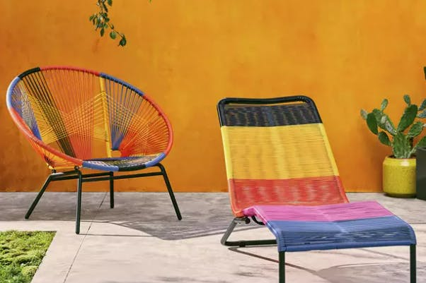Acapulco chairs are as cool as they are quirky