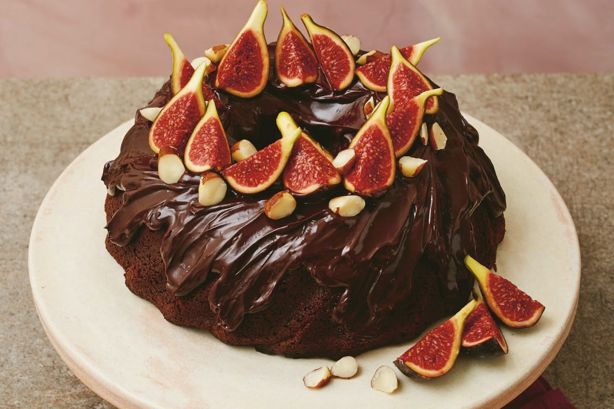 chocolate mud cake recipe with fig and brazil nut