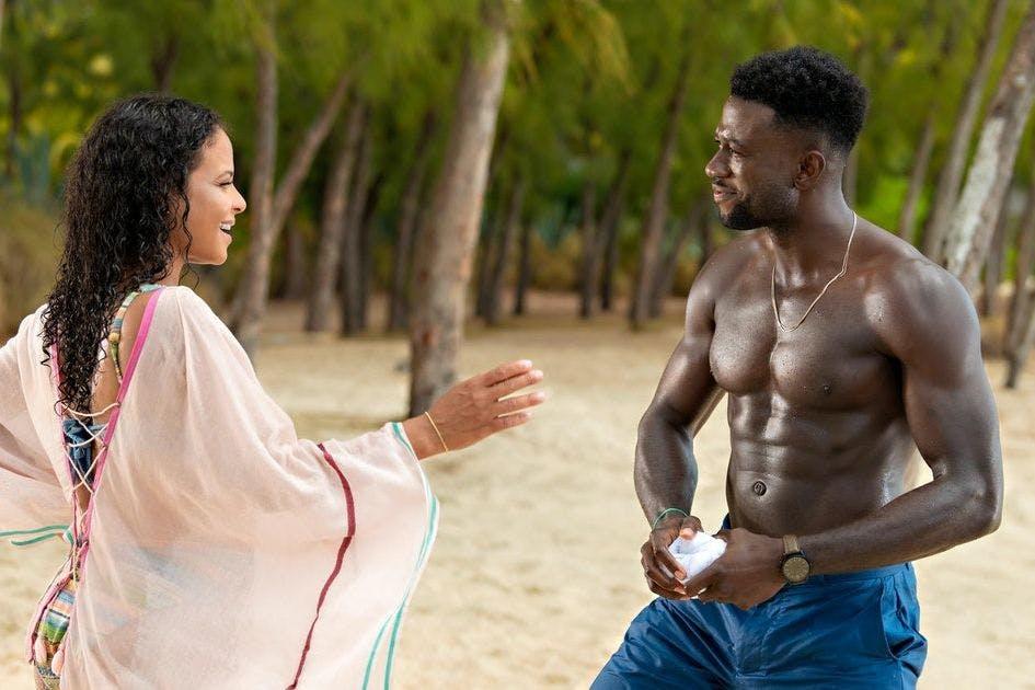 Resort To Love on Netflix: production still