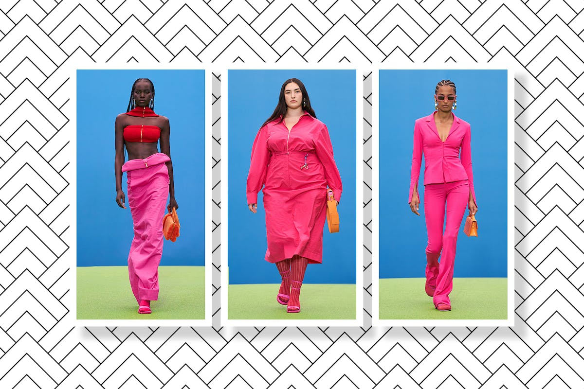 According to Jacquemus, this is the colour combo we'll be wearing next