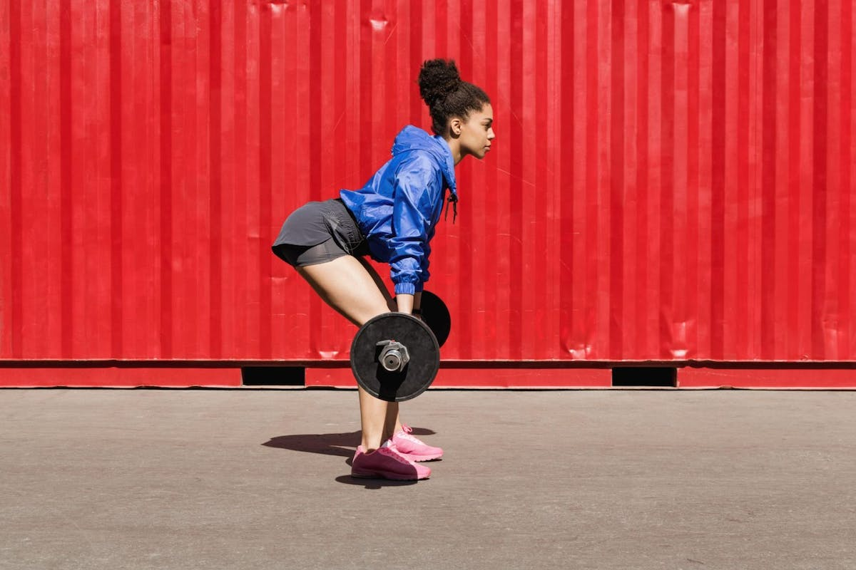 Why maintaining good form is so important for strength training.