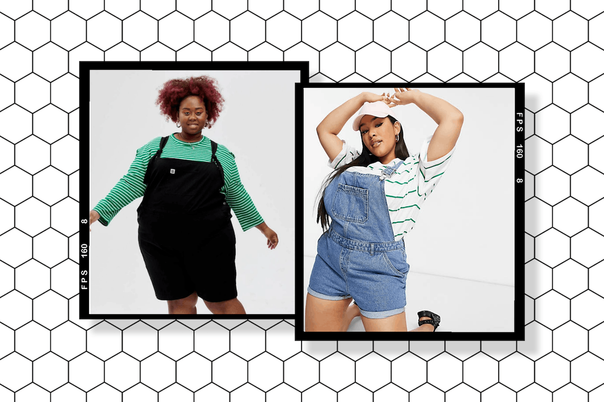 Short dungarees are having a moment this summer