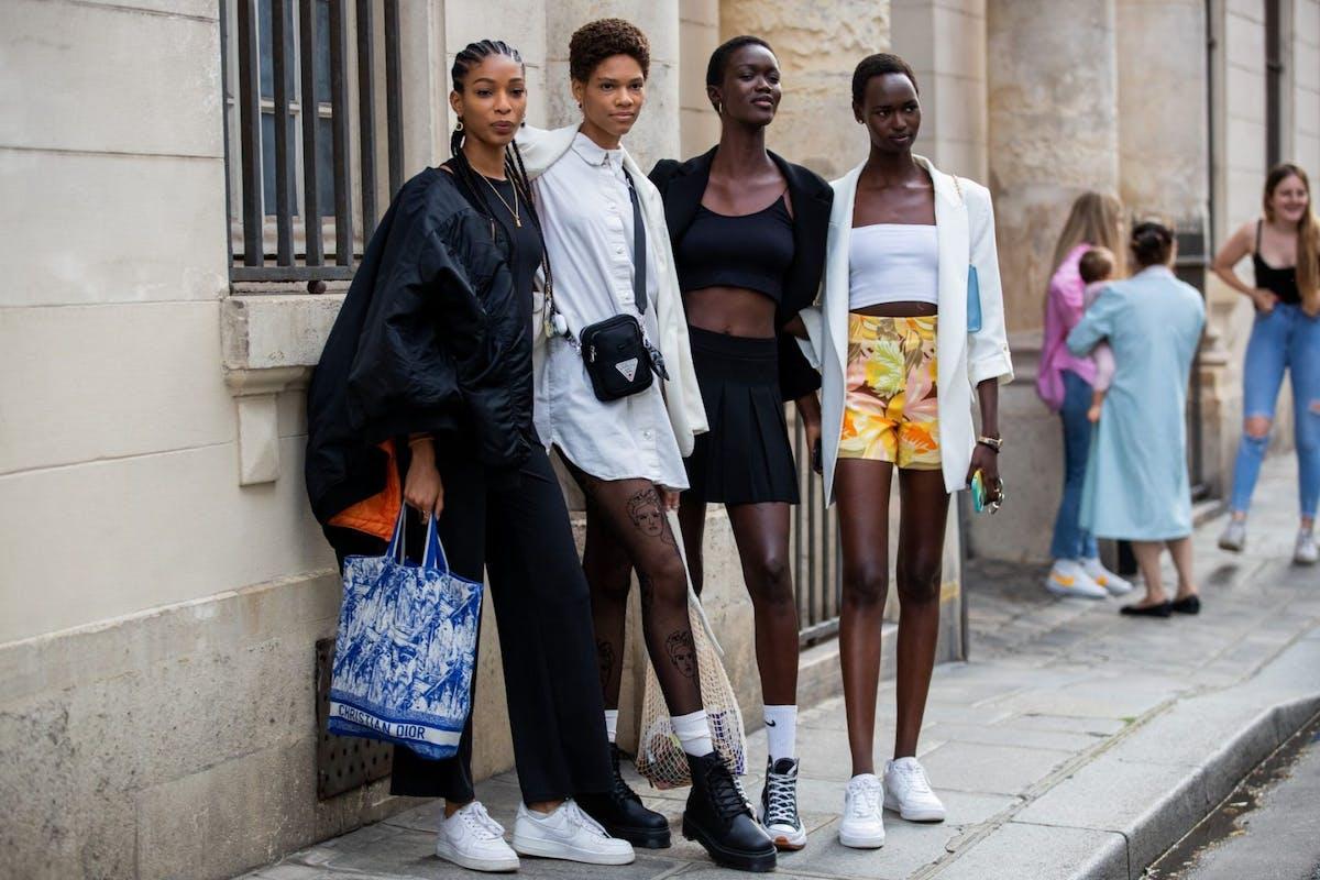 Paris Couture Fashion Week street style autumn/winter 2021
