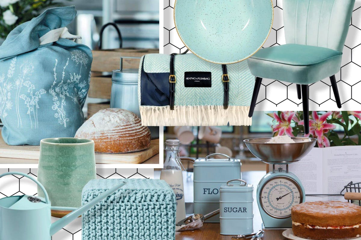 Duck egg blue is the new sage green