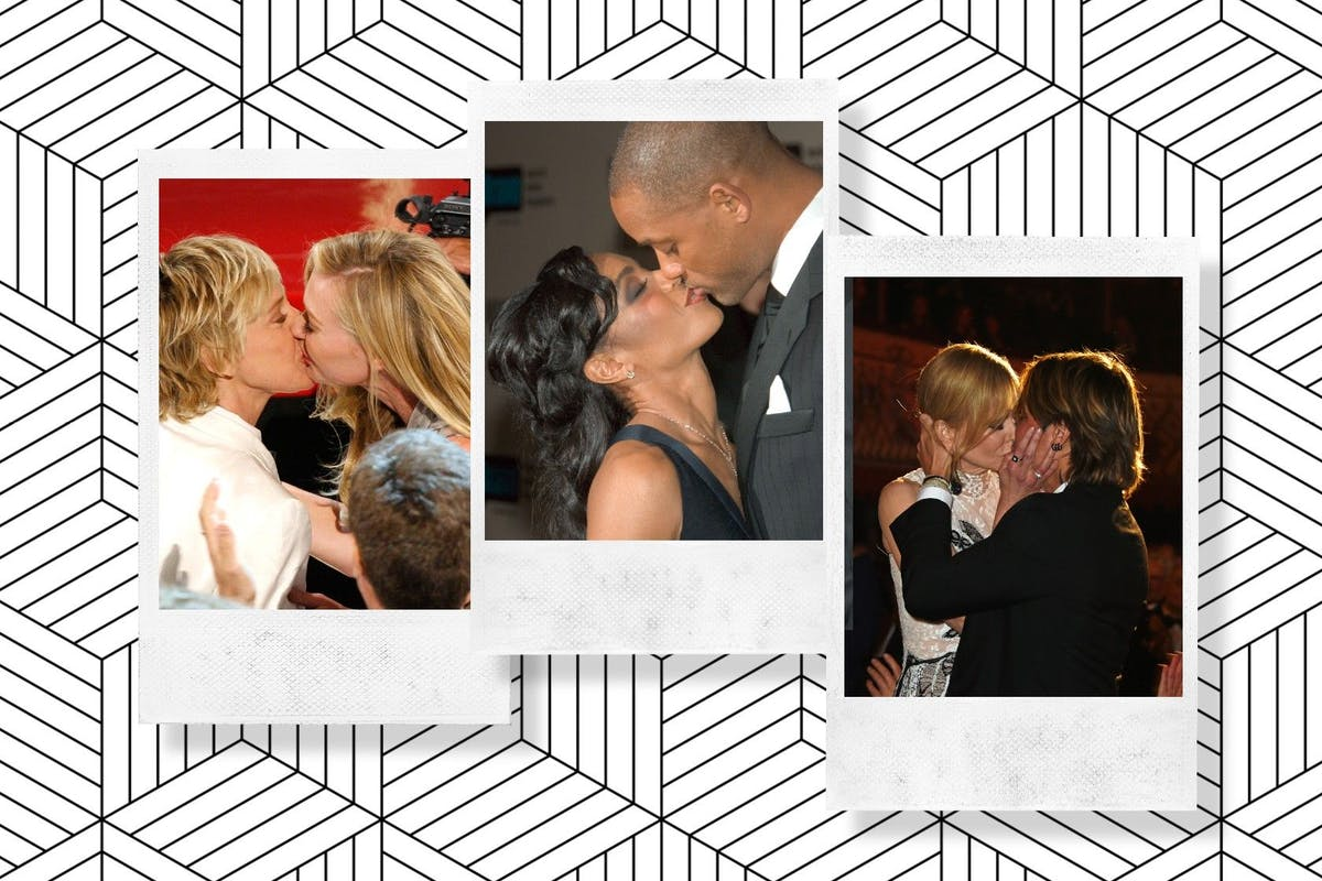 Celeb couples in PDA moments