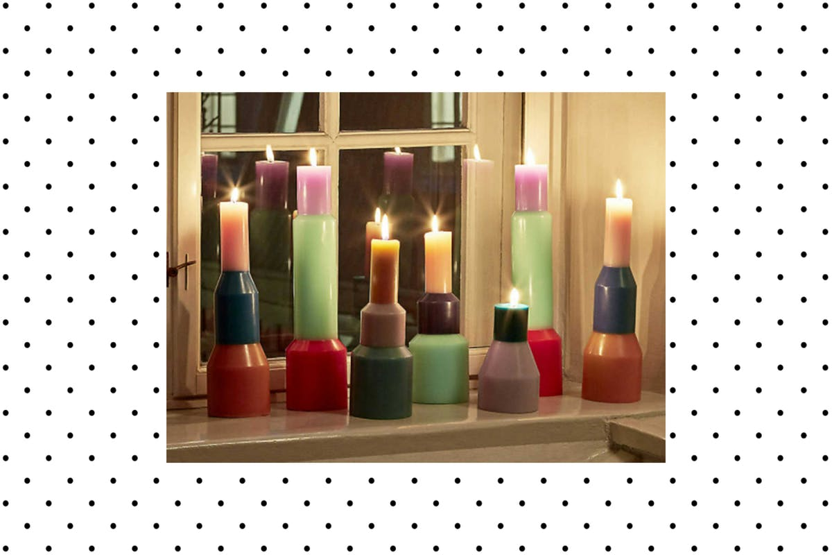 Pillar candles are the style to know now