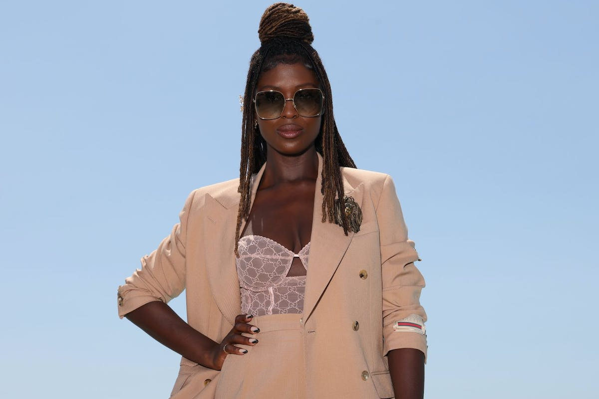 Jodie Turner-Smith attends Kering Talks Women In Motion on July 11, 2021 in Cannes, France. (Photo by Vittorio Zunino Celotto/Getty Images for Kering )