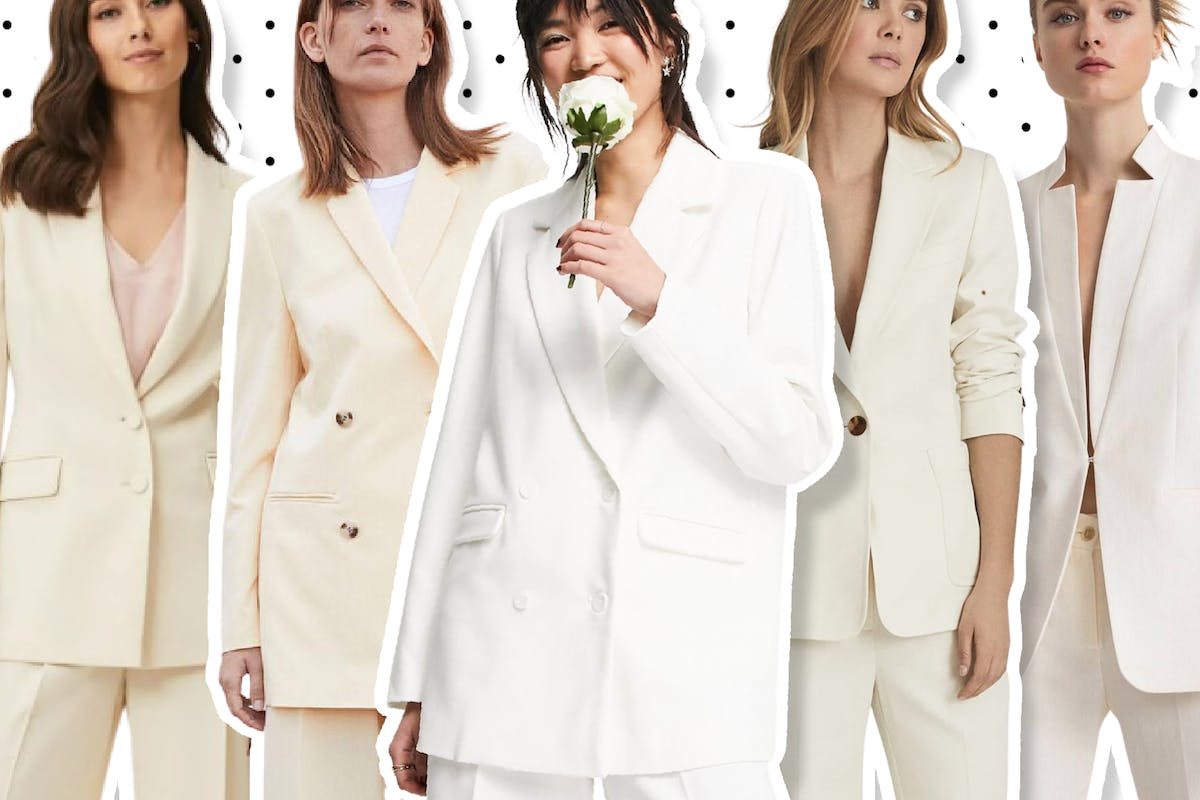 Trouser suits to wear for your wedding.