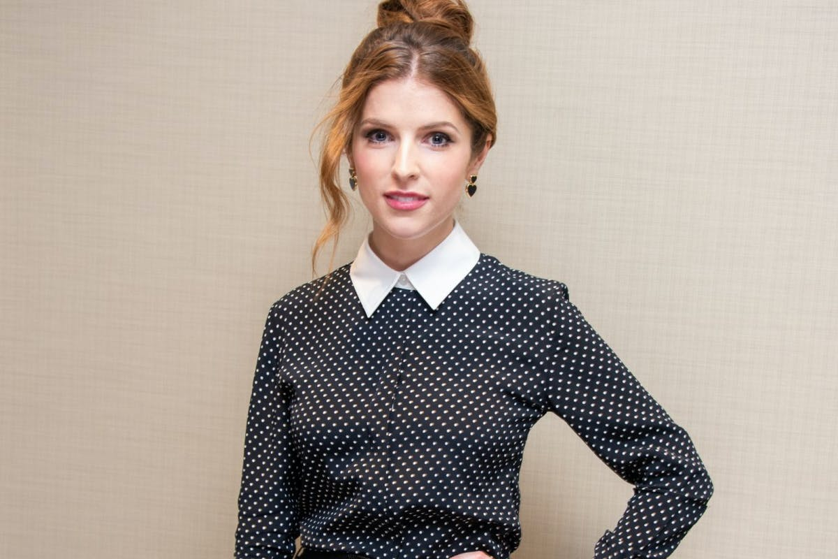 """Anna Kendrick at the """"Trolls World Tour"""" Press Conference at DreamWorks Animation on February 04, 2020 in Glendale, California. (Photo by Vera Anderson/WireImage)"""