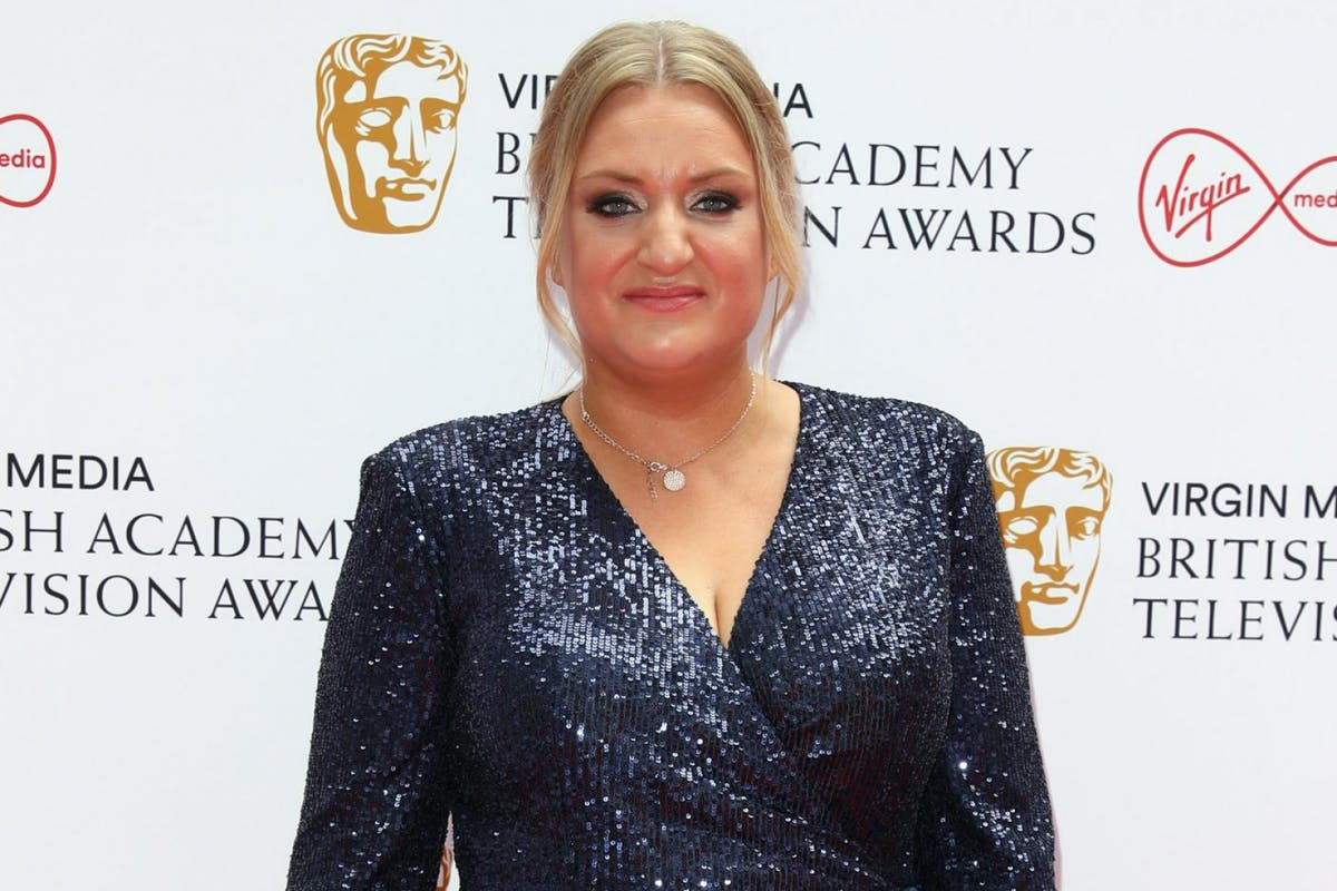 Daisy May Cooper on the BAFTA red carpet