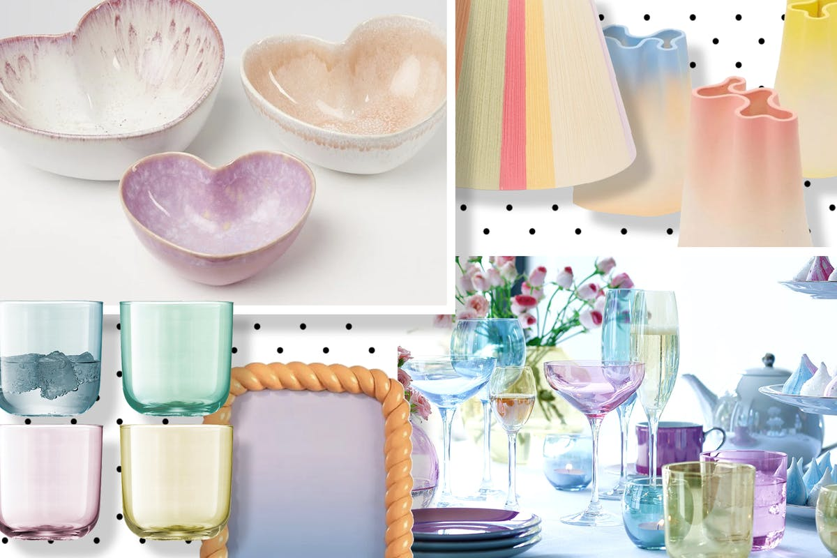 Sherbet-coloured homeware to sweeten up your home.