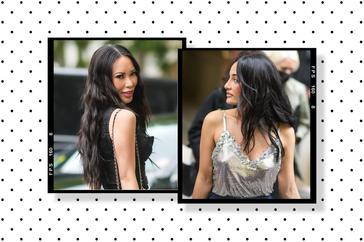 Paris fashion week: Amina Muaddi and Christine Chiu