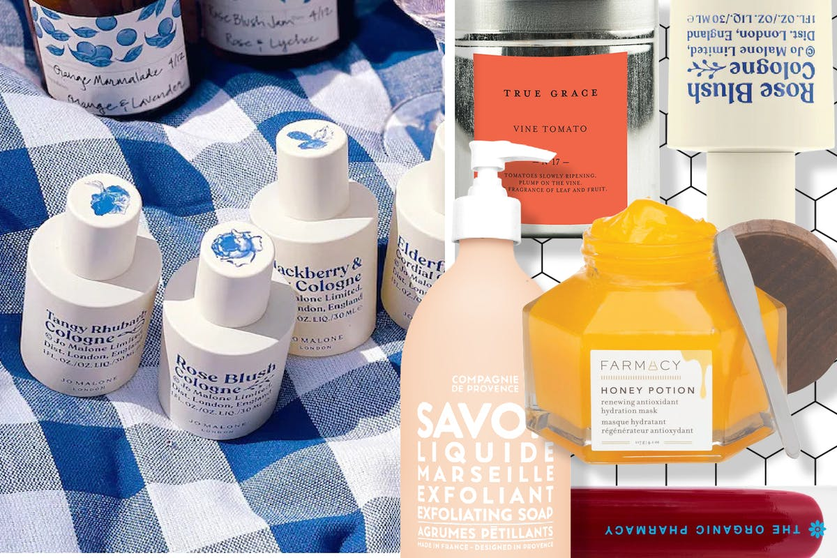 Cottagecore beauty products