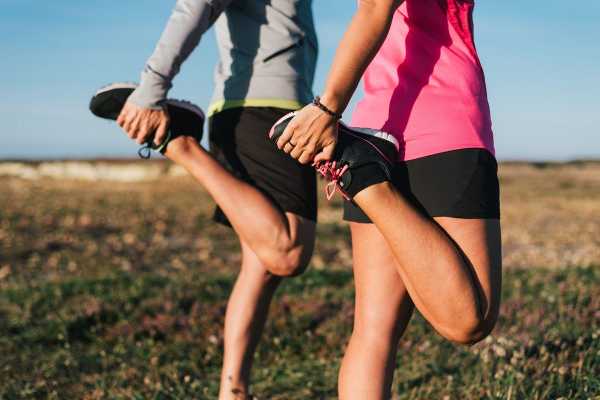 Quad stretches for stretching out tight thighs
