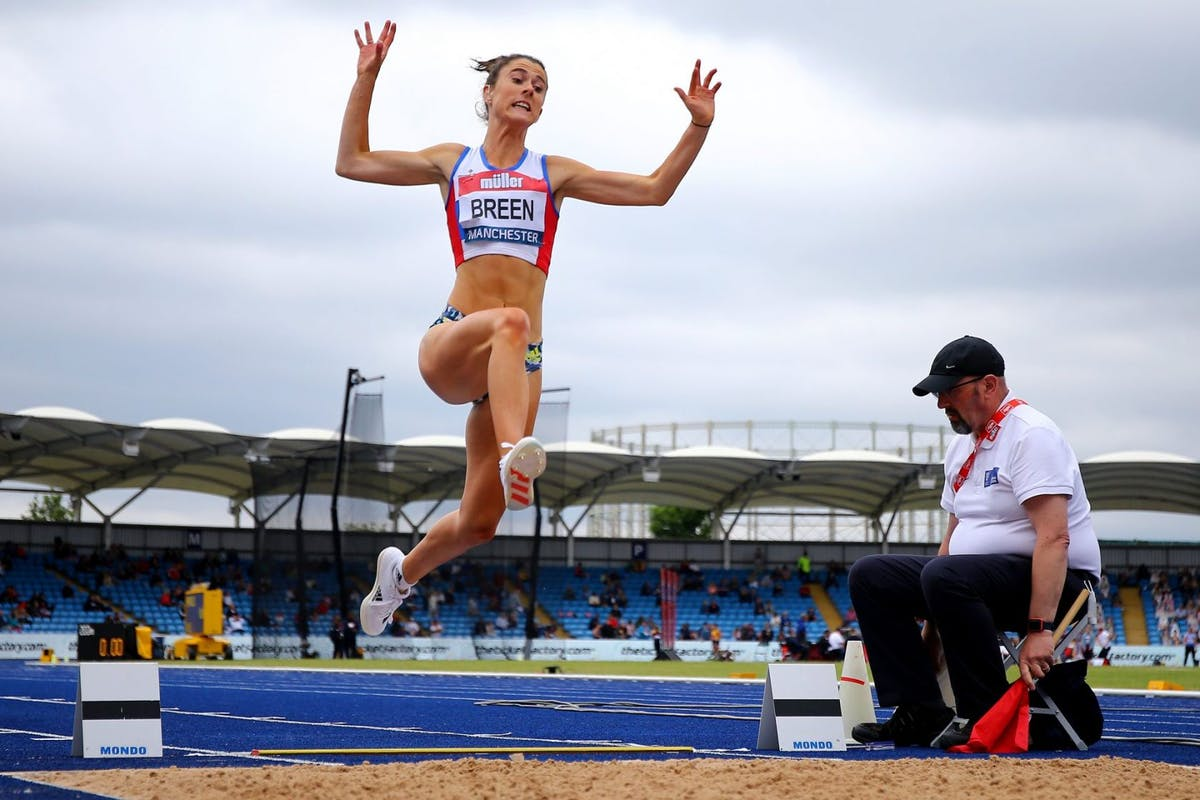 Olivia Breen, Paralympic world champion, has been told that her shorts are too short.