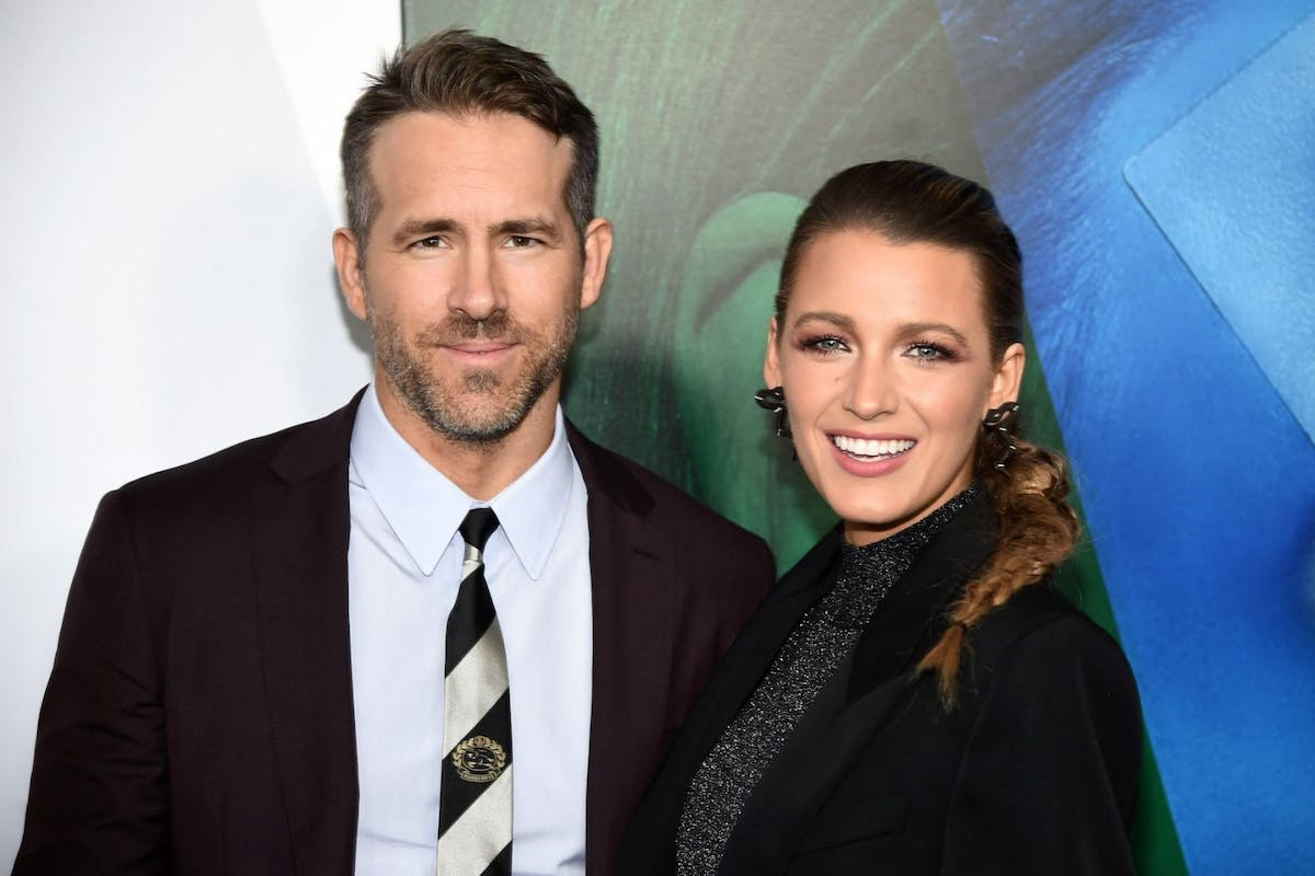 """Ryan Reynolds and Blake Lively attends the New York premier of """"A Simple Favor"""" at Museum of Modern Art on September 10, 2018 in New York City. (Photo by Steven Ferdman/Getty Images)"""