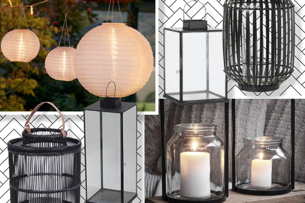 Outdoor lanterns for extending al fresco evenings