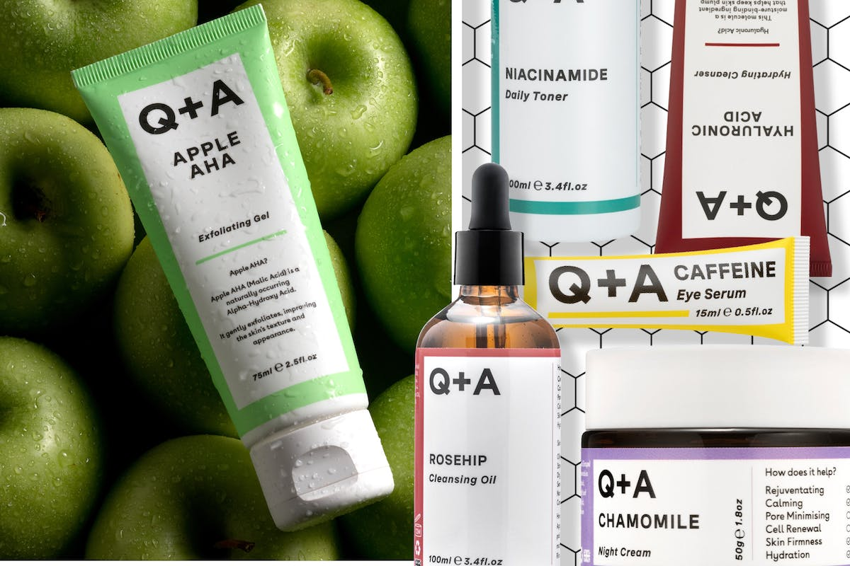 Q+A Skincare products