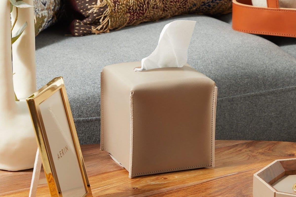 Tissue box covers are big
