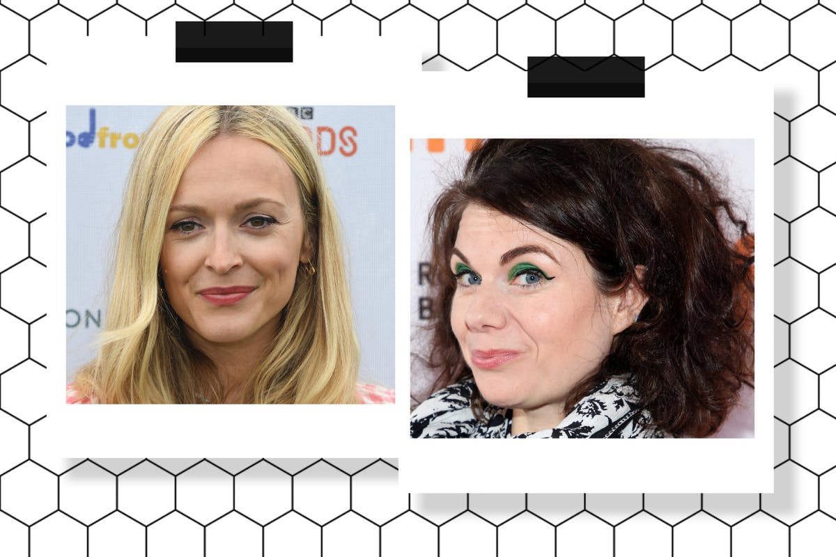 Fearne Cotton and Caitlin Moran
