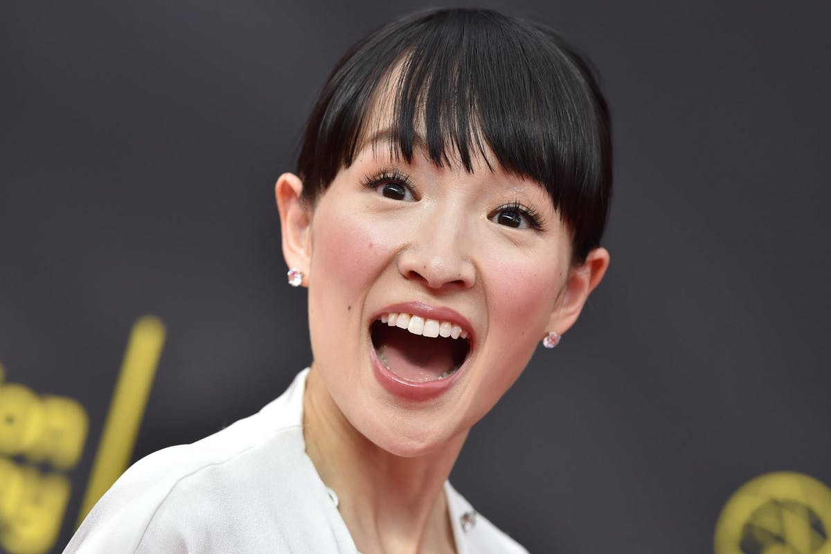 Marie Kondo attends the 2019 Creative Arts Emmy Awards on September 14, 2019 in Los Angeles, California. (Photo by Axelle/Bauer-Griffin/FilmMagic)