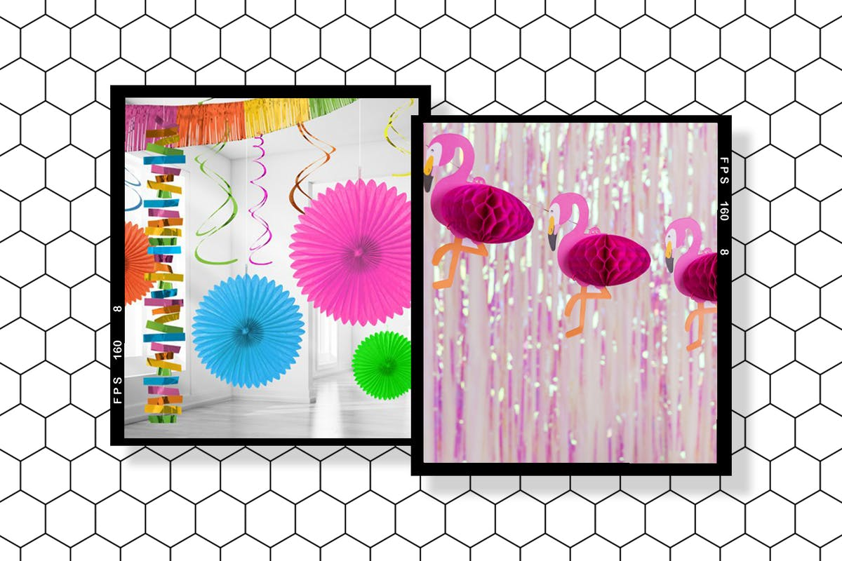 Fun and playful party decorations