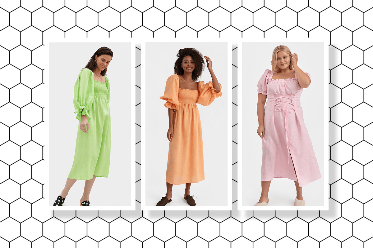 Linen dresses are the perfect tonic to sweaty weather
