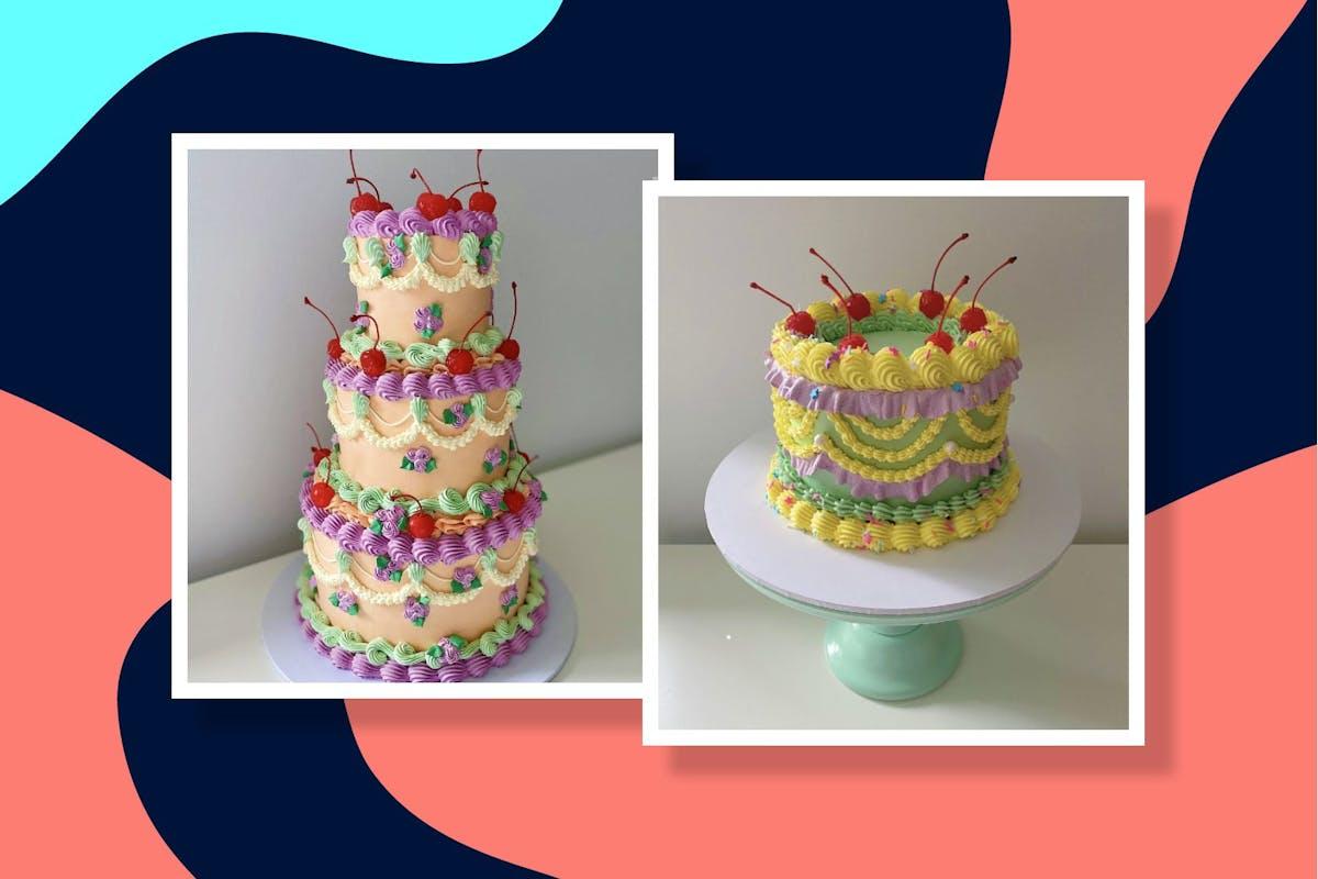 Instagram celebration cakes